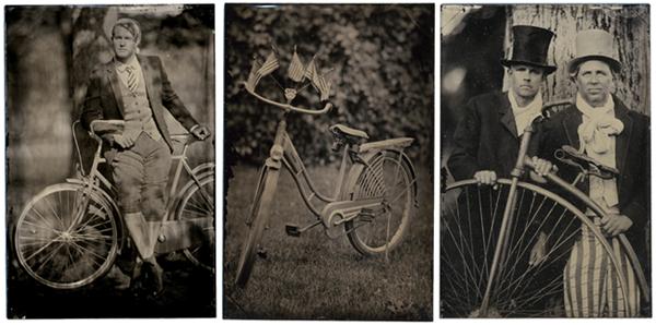 bicycle tintypes
