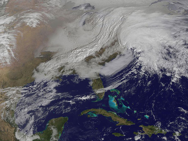 NASA satellite image of nemo