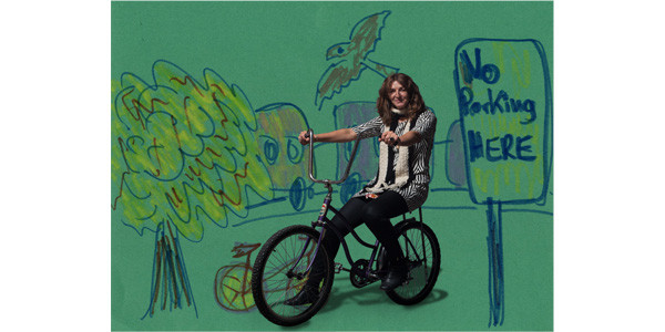 Angela Stach's bike portrait