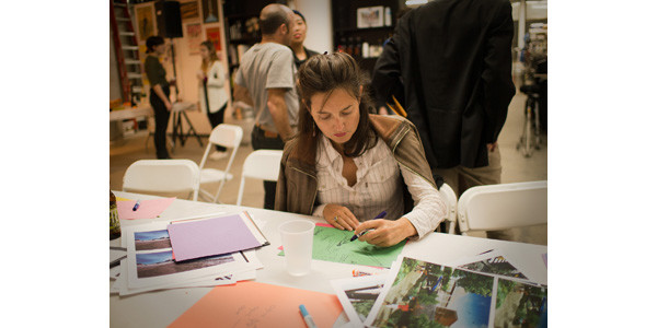 Stella Bronwasser of Rolling Orange creating her Bicycle Utopia