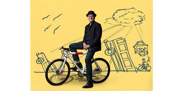 Reed Rubey and a Vanmoof bike are all that survive in his Bicycle Utopia