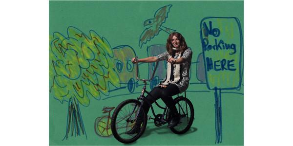 Angela Stach's bike portrait