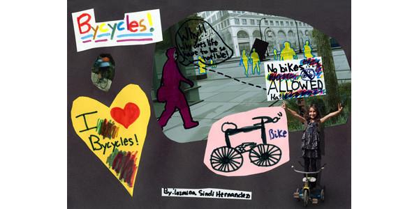 Luzmina Sindi Hernandez's bike portrait