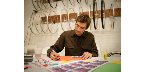 Will Knoesel from Recycle-A-Bicycle making a very special Bicycle Utopia...