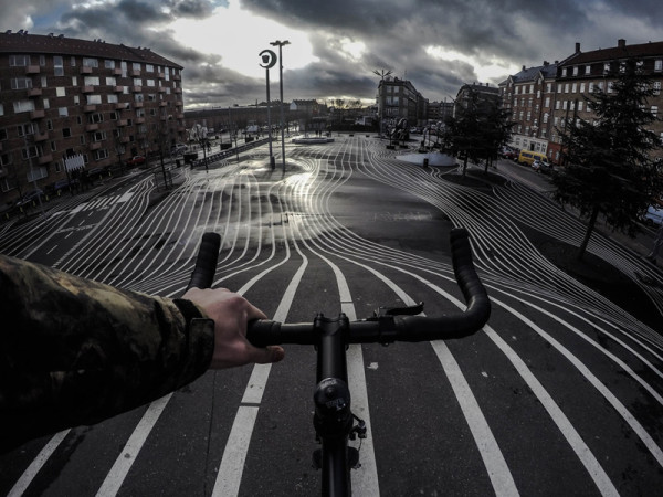 "entry-9P (Copenhagen, Denmark) ""I often go exploring on my bike in and around Copenhagen. Although it is a small city there is always something new to see, and my bike allows me to see my city from another perspective. This gloomy shot is a product of just that."""